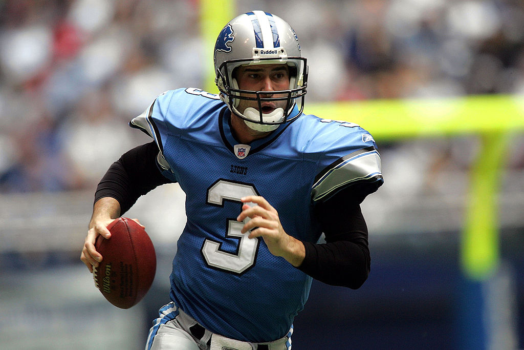 While Joey Harrington struggled in the NFL, the quarterback considers his NFL career to be successful.