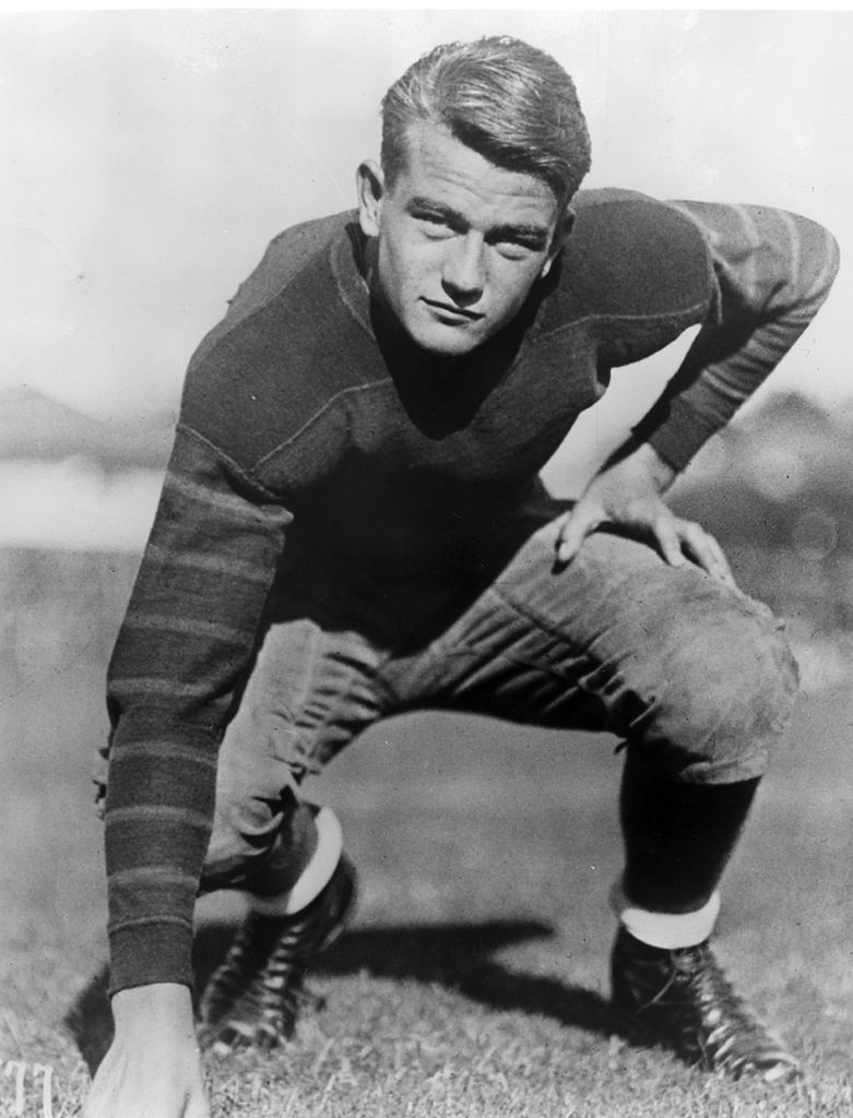 The Atlanta Falcons failed in their attempt to draft 65-year-old John Wayne to add toughness to their team.
