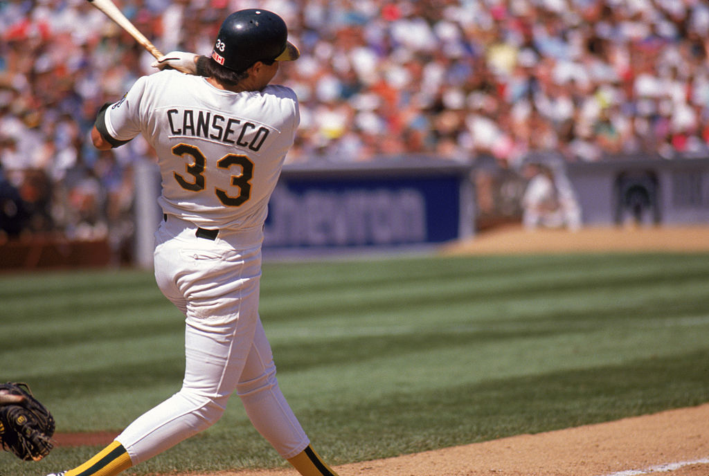 Jose Canseco declared bankruptcy after his baseball career ended.