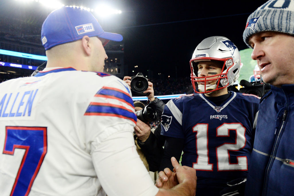 Buffalo Bills quarterback Josh Allen admitted he enjoyed playing against former Patriots quarterback Tom Brady. Brady signed with the Tampa Bay Buccaneers this offseason.