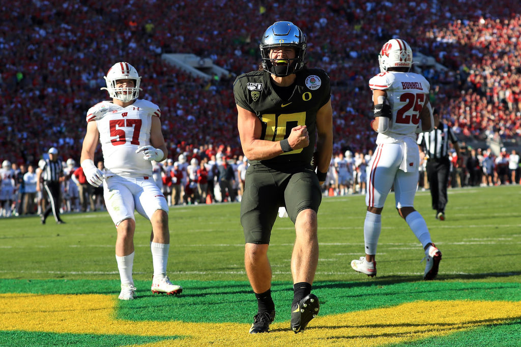 Top NFL draft prospect Justin Herbert had an impressive career at Oregon. But arm and attitude issues are poised to hold Herbert back in the NFL.