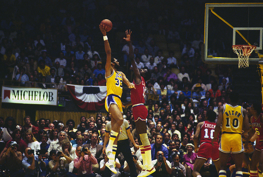 Hall of Famer Kareem Abdul-Jabbar