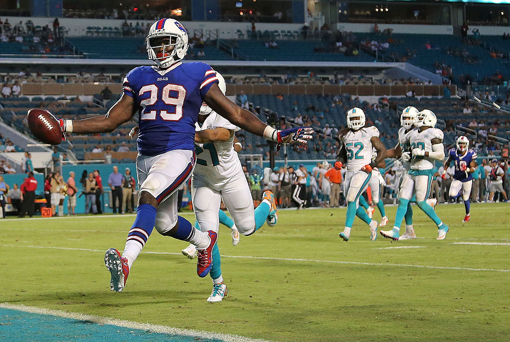 Former Florida State running back Karlos Williams averaged 5.6 yards per carry and scored seven touchdowns as a rookie for the Buffalo Bills in 2015. Williams hasn't played in the NFL since.