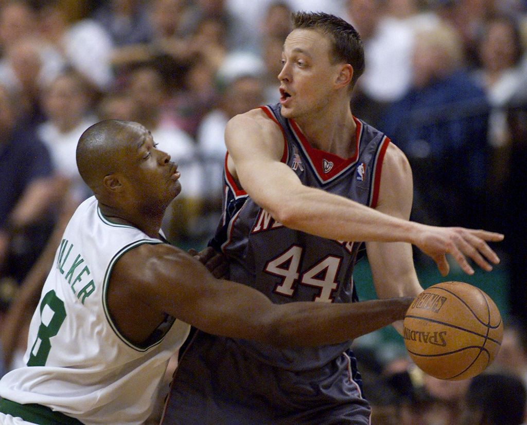 Keith Van Horn of the New Jersey Nets