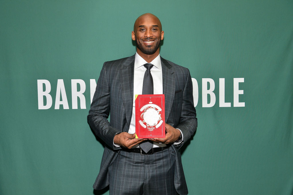 Kobe Bryant always tried to be perfect, even when he was working on his book series.