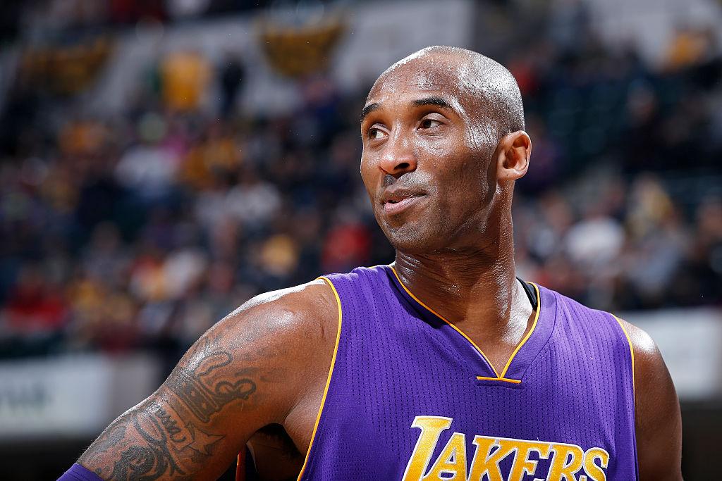Former Lakers guard Kobe Bryant