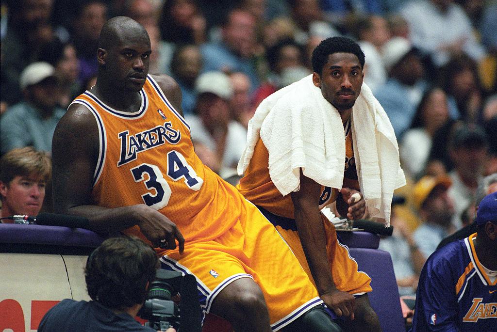 Kobe Bryant and Shaq