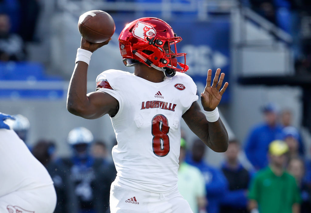 Before starring for the Baltimore Ravens, Lamar Jackson attended the University of Louisville.