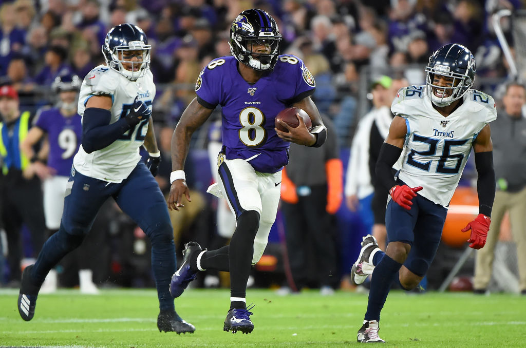 Baltimore Ravens quarterback Lamar Jackson earned MVP honors last season. Jackson is also the cover athlete for EA Sports' Madden NFL 21.