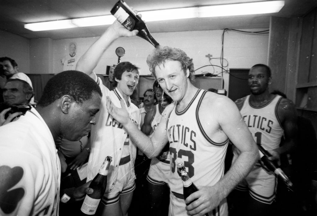 Larry Bird was such a popular and respected NBA star that Twitter named its iconic logo after the Boston Celtics legend.
