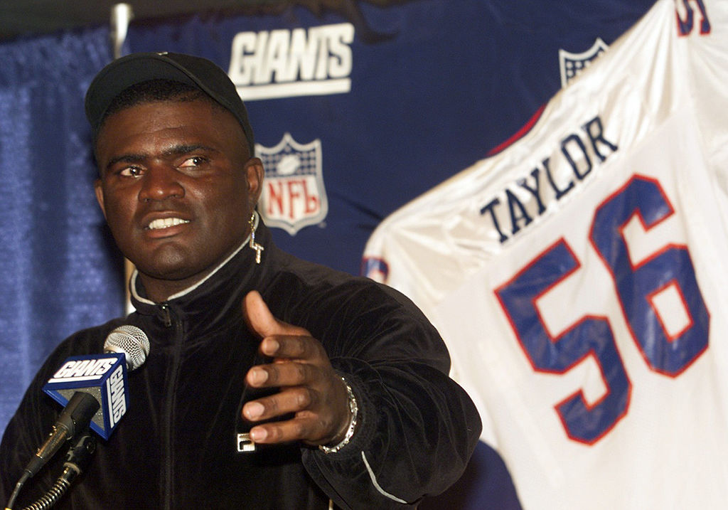 New York Giants Hall of Famer Lawrence Taylor