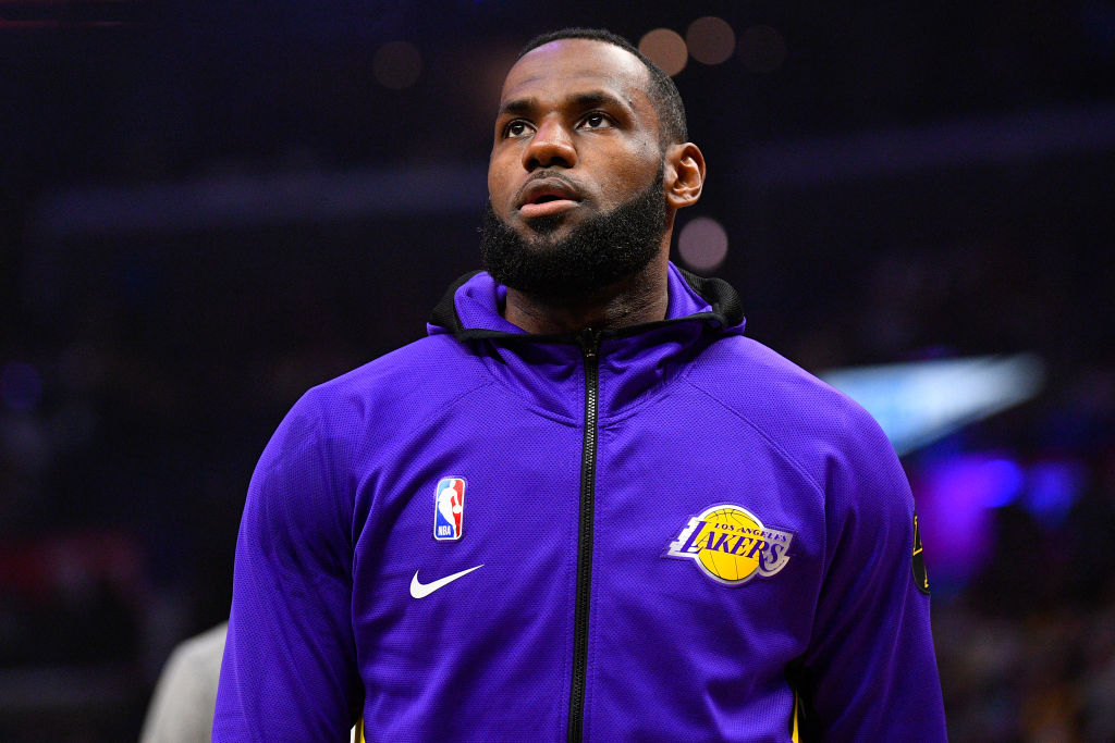 Lakers star forward LeBron James