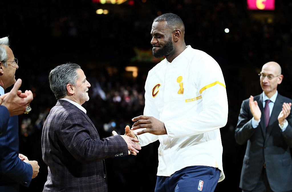 When LeBron James went to Miami, Cleveland Cavaliers owner Dan Gilbert wrote a letter about him. He was not the first to do that, though.