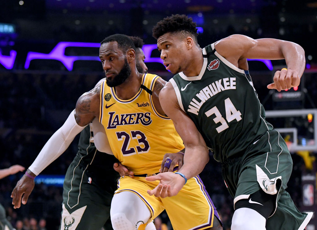 LeBron James and Giannis Antetokounmpo are battling it out for the NBA MVP award.