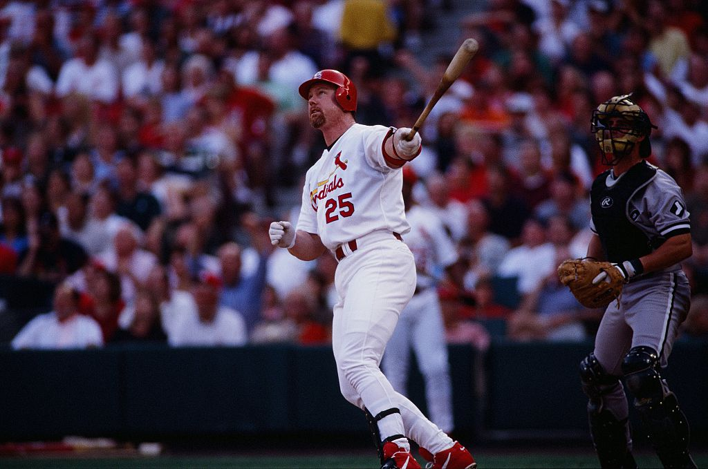 Mark McGwire made $129,000 for every home run during his career with the Athletics and Cardinals.