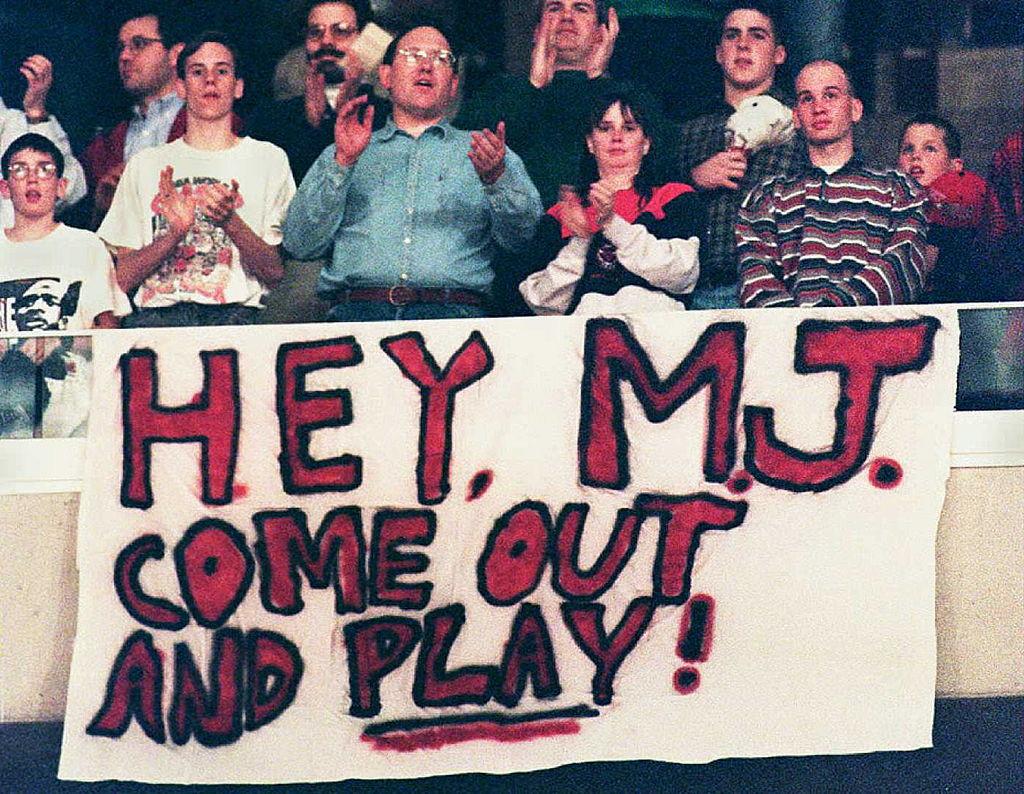 Michael Jordan Fans