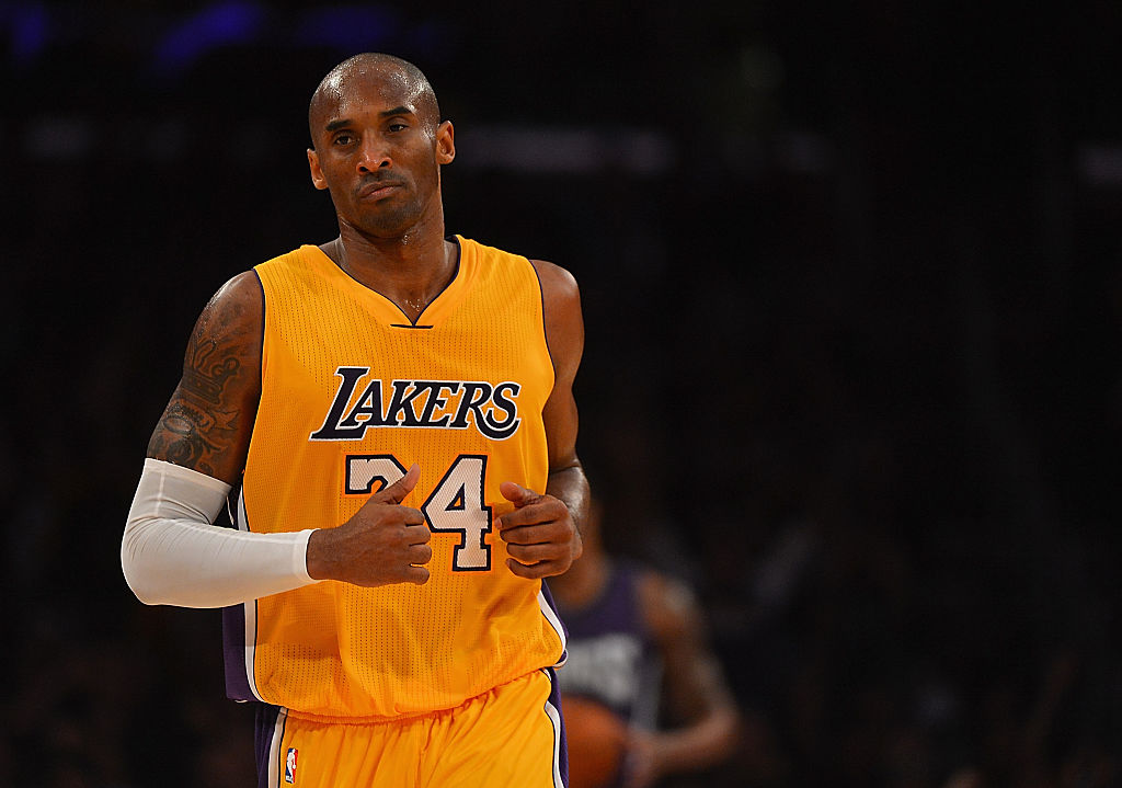 Former Lakers guard Kobe Bryant