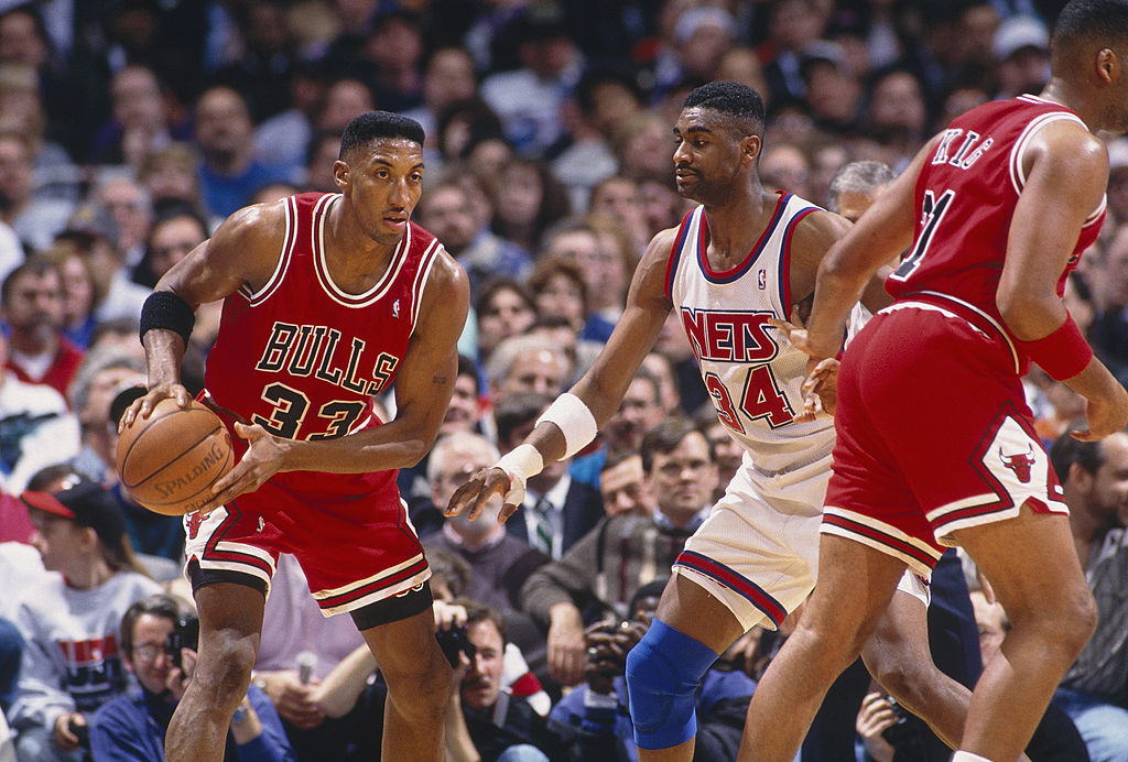 Hall of Famer Scottie Pippen