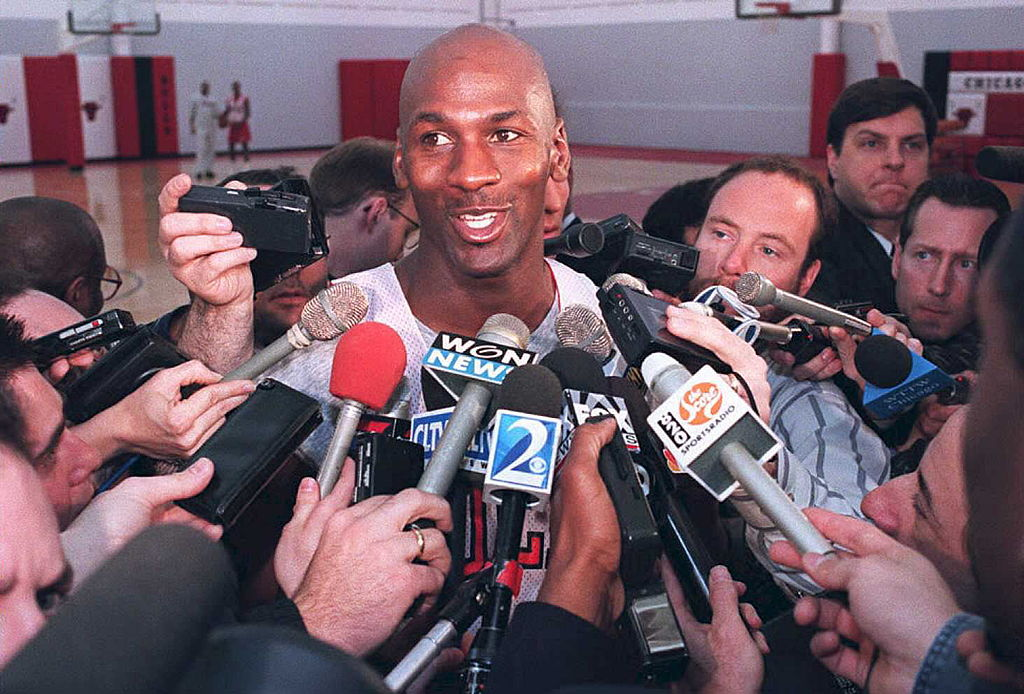 Michael Jordan was one of the best basketball players of all-time. He was a shoo-in for the Hall of Fame but he didn't want to be inducted.