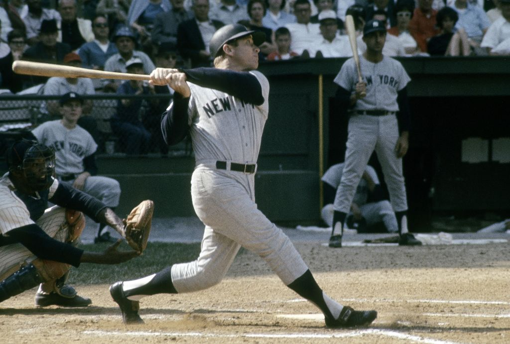 New York Yankees legend Mickey Mantle battled alcoholism later in life.