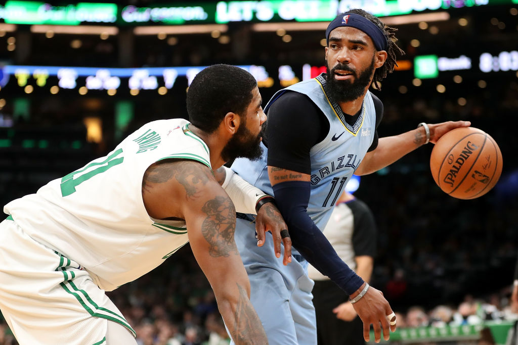 Mike Conley's gym was a hot topic of conversation during NBA HORSE. The loads of money he earned on the Memphis Grizzlies helped with that.