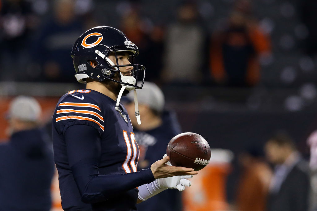 If the Chicago Bears don't pick up Mitchell Trubisky's option, the quarterback will miss out on $24 million.