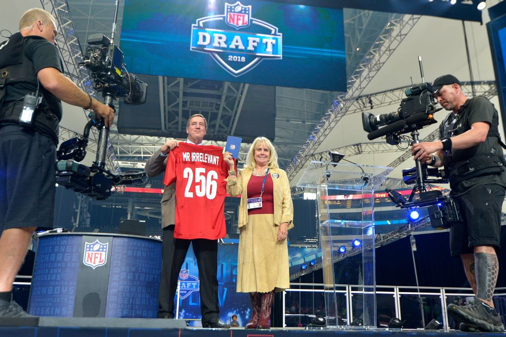 The NFL draft tradition of honoring Mr. Irrelevant began in 1976,