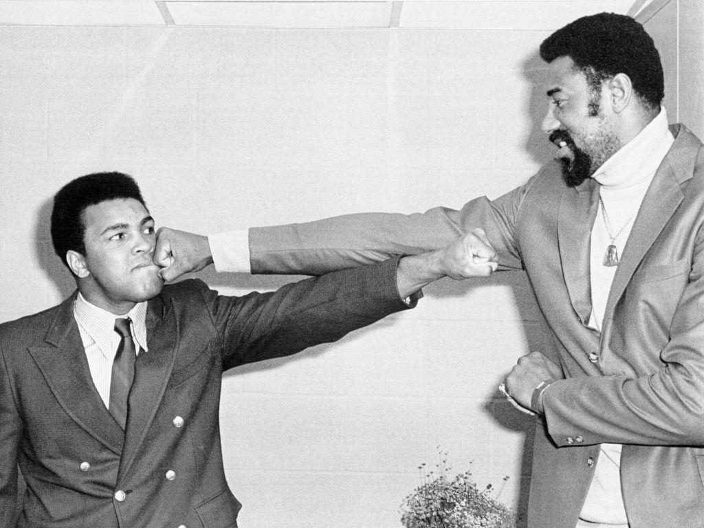 Muhammad Ali and Wilt Chamberlain