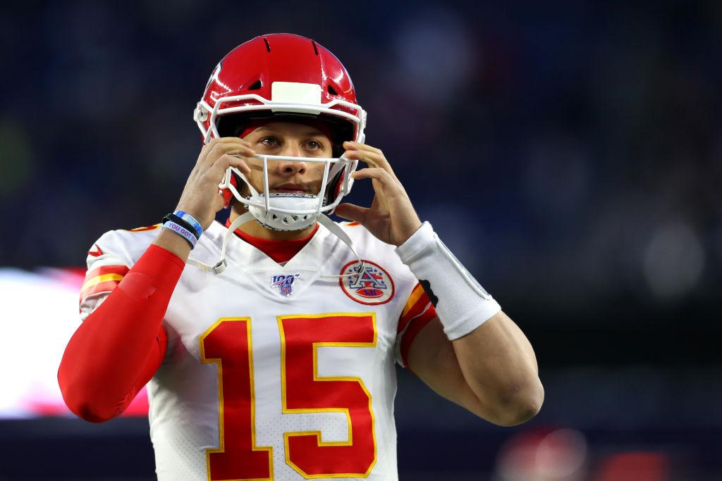 Chiefs star quarterback Patrick Mahomes