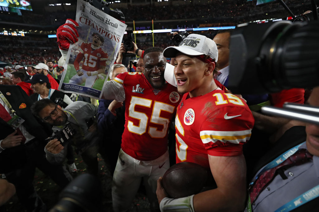 Patrick Mahomes and the Chiefs should be Super Bowl favorites for the 2020 season.