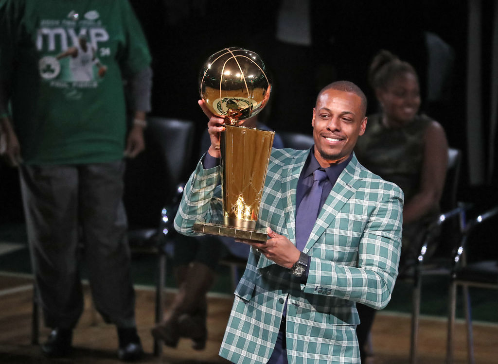 Paul Pierce has a unique idea for how the NBA should finish its season.