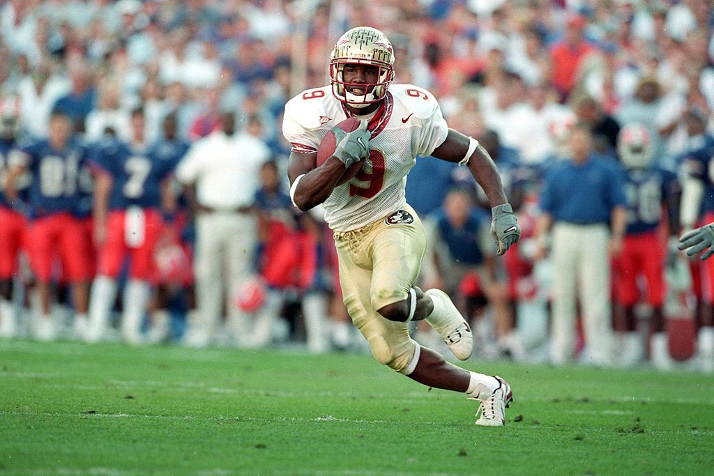 Former Bengals receiver Peter Warrick lost his chance at the 1999 Heisman Trophy after getting arrested over $21 while he was a player at FSU.