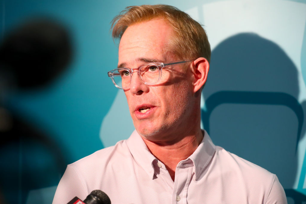 NFL, MLB, and USGA commentator Joe Buck