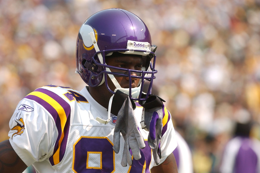 Minnesota Vikings wide receiver Randy Moss paid plenty of fines during his NFL career.