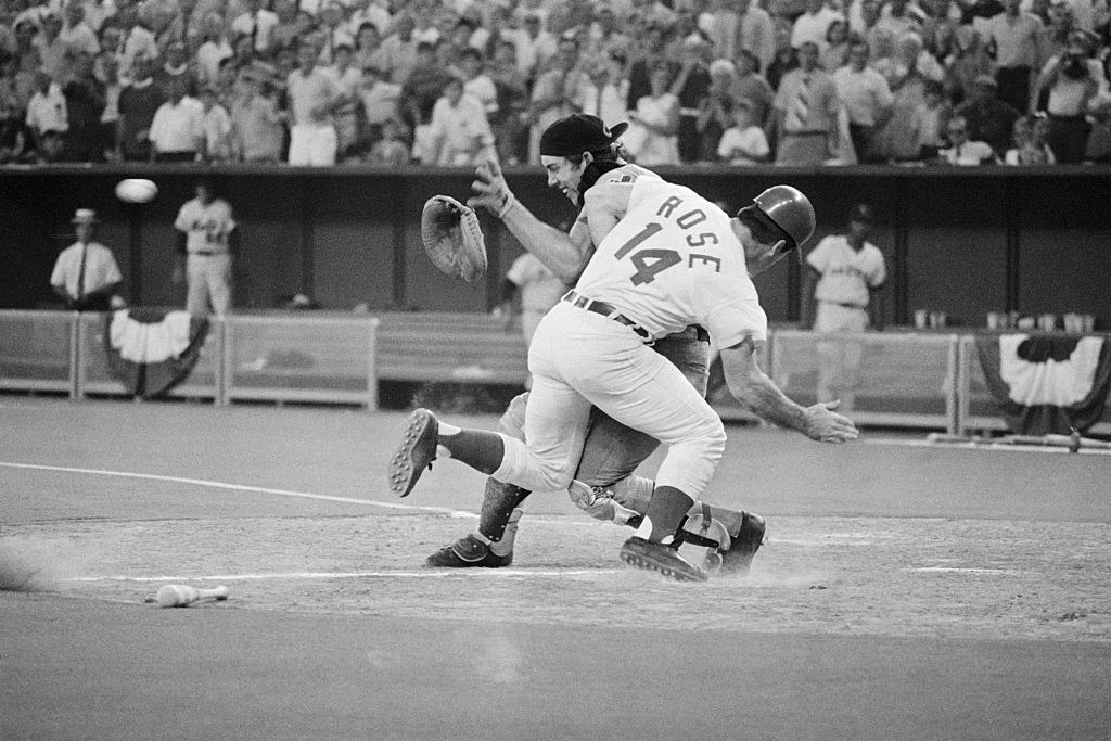 Pete Rose, Ray Fosse, 1970 MLB All-Star Game