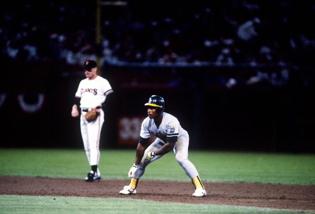 Rickey Henderson prioritized football over baseball, thanks to his mother.
