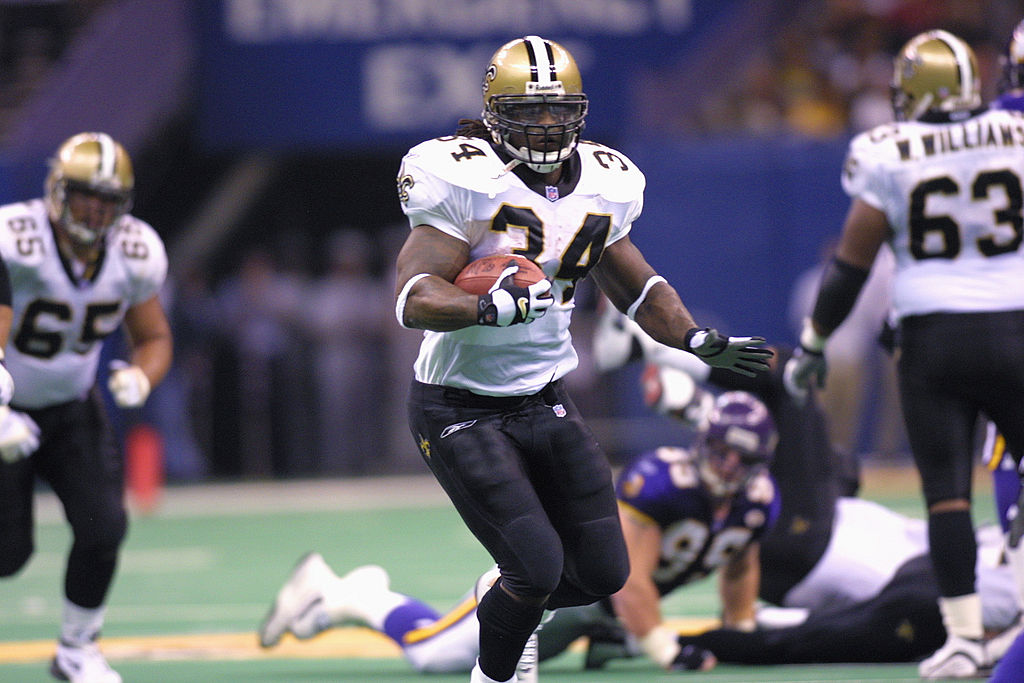 The New Orleans Saints made a brutal trade at the 1999 NFL draft to select Ricky Williams.