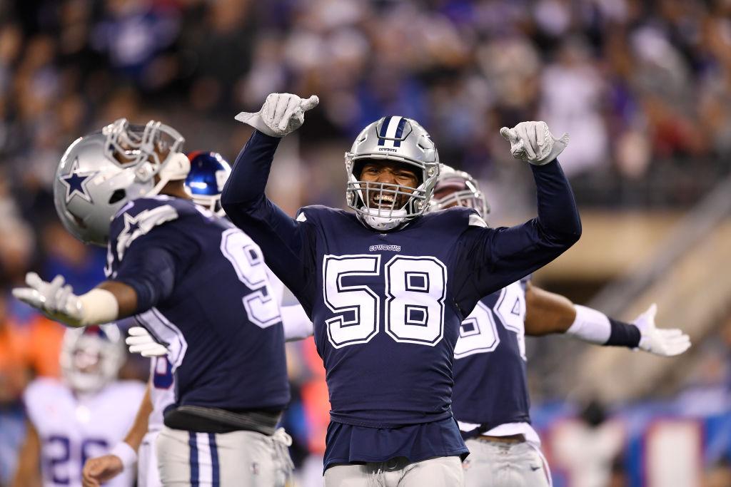 New Chicago Bears defender Robert Quinn had 11 1/2 sacks for the Dallas Cowboys last year.