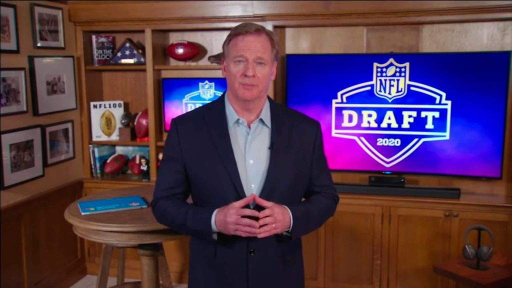 Roger Goodell has a complicated legacy as NFL commissioner. His performance in Thursday's NFL Draft greatly helped how he'll be remembered.