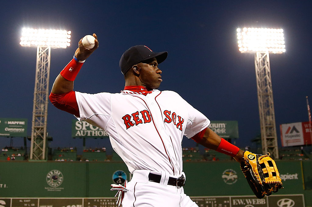 Cuban outfielder Rusney Castillo signed a $72.5 million contract with the Red Sox in 2014. Castillo hasn't played in the major leagues since 2016.