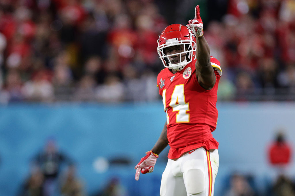 Veteran NFL receiver Sammy Watkins won his first Super Bowl with the Kansas City Chiefs last year. Watkins is one of quarterback Patrick Mahomes' most important weapons.