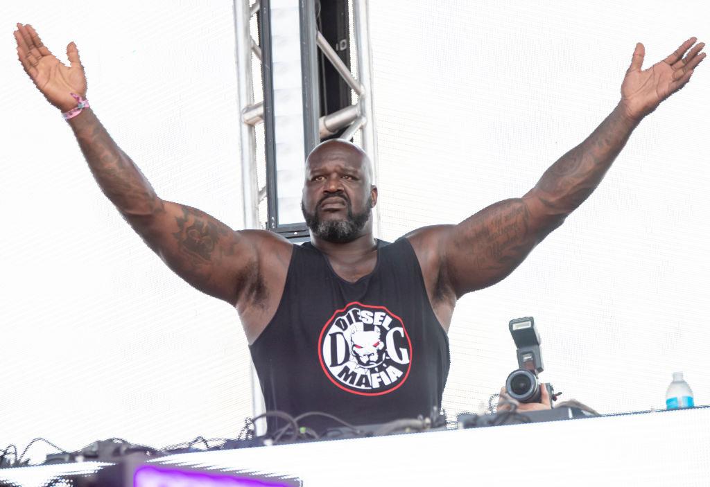 """Shaquille O'Neal earned $7 million for his role in the movie 'Kazaam."""""""