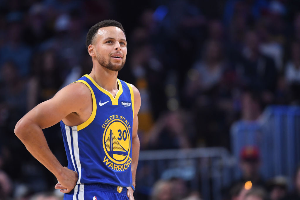Warriors star guard Stephen Curry