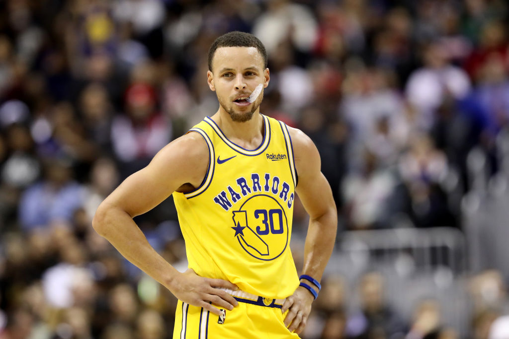 Golden State Warriors point guard Stephen Curry