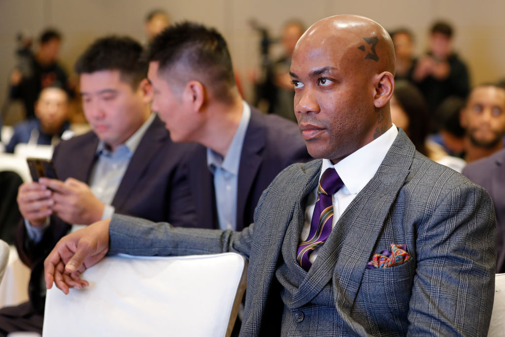 Former NBA star point guard Stephon Marbury
