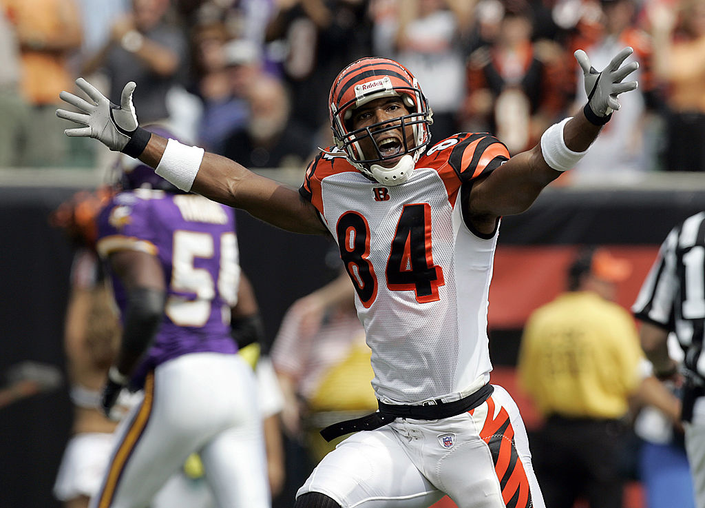 Former Bengals receiver T.J. Houshmandzadeh caught 627 passes and 44 touchdowns in 11 NFL seasons.