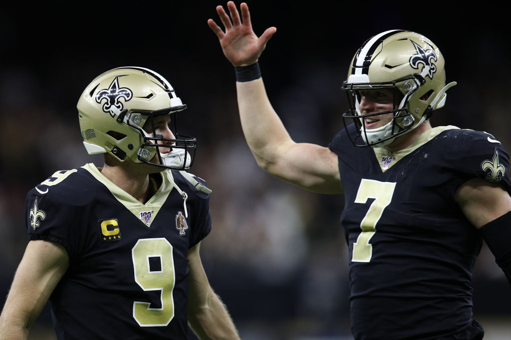 Taysom Hill signed a $21 million contract with the Saints to remain Drew Brees' backup.