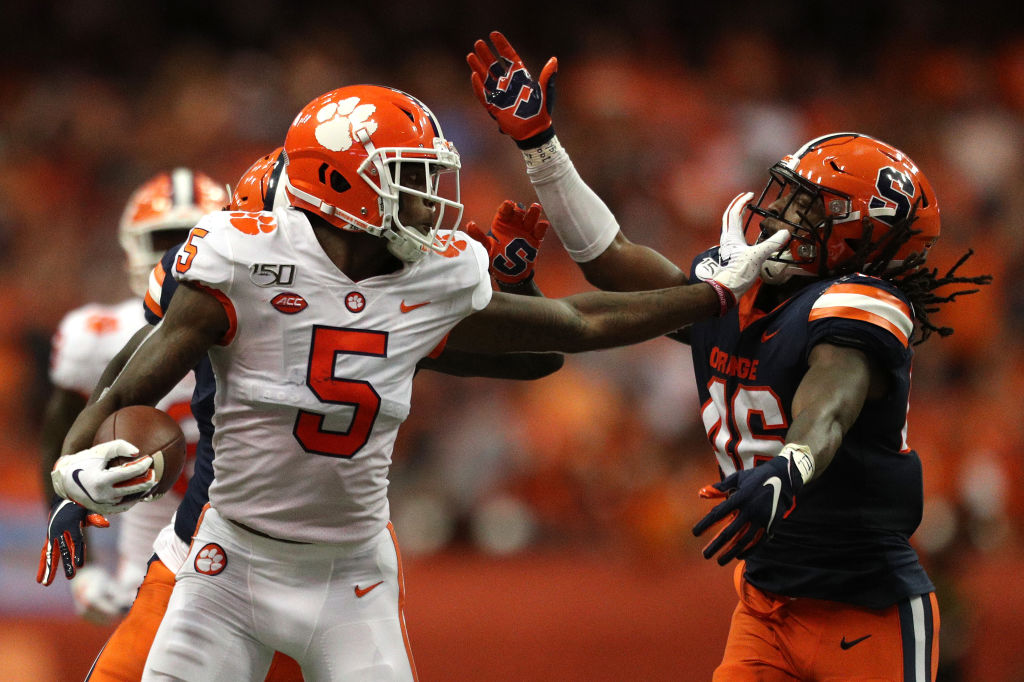 New Bengals receiver Tee Higgins enjoyed a record-setting career at Clemson.