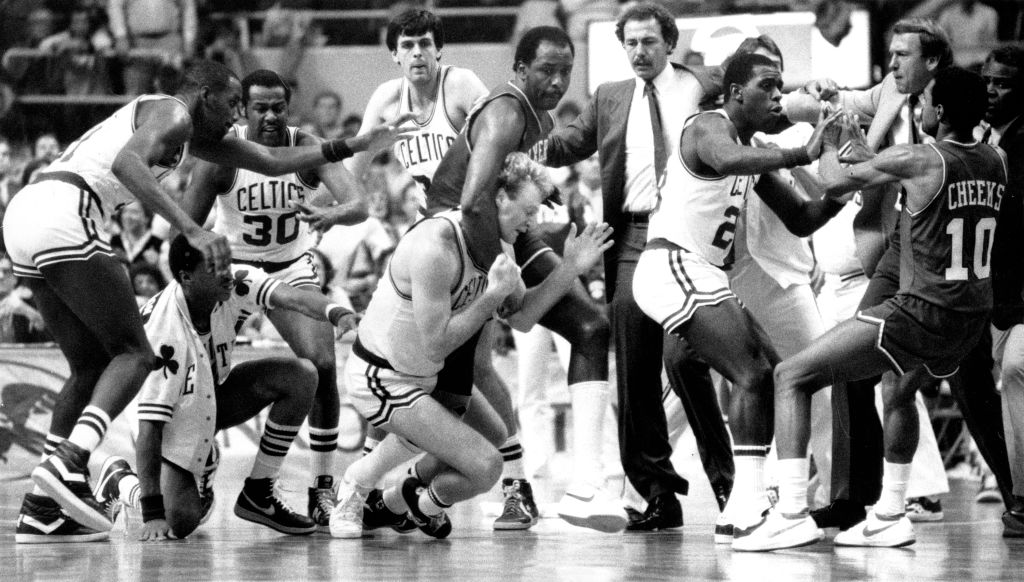 The Enforcers and NBA fighting
