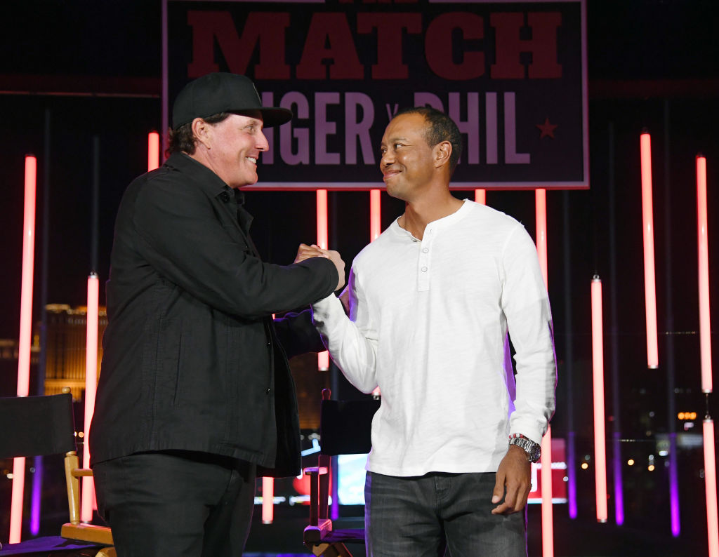 Phil Mickelson Left the Cutest Note for Tiger Woods Following the 2019 Masters